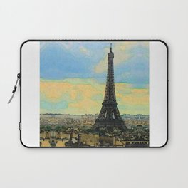 Watercolor Dream of Paris Laptop Sleeve