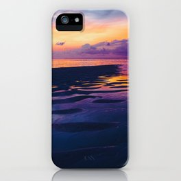 Maldivian sunset 5 iPhone Case