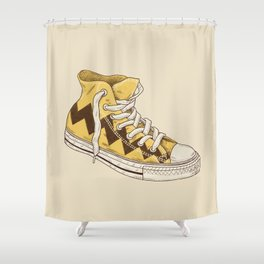 Chuck Shower Curtain