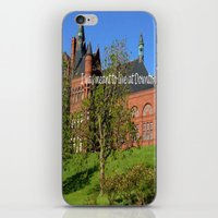 downton abbey iPhone & iPod Skins featuring Downton Desire by Nonna Originals