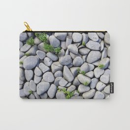 Sea Stones - Gray Rocks, Texture, Pattern Carry-All Pouch