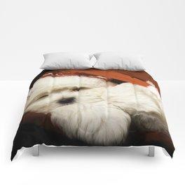 Sleepy Santa Puppy Comforters