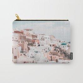 Santorini Greece Carry-All Pouch