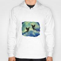 fairies Hoodies featuring Moon Fairies by haroulita
