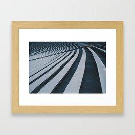 Signals x Brainwaves Framed Art Print