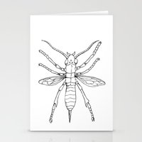 insect Stationery Cards featuring Insect by Martin Stolpe Margenberg