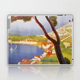 Ischia Island Italy summer travel ad Laptop & iPad Skin