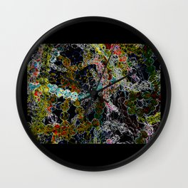 Abstract Beads Wall Clock