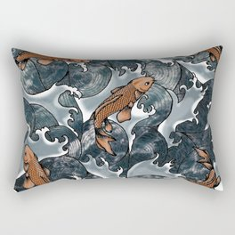 Ocean Fish Rectangular Pillow