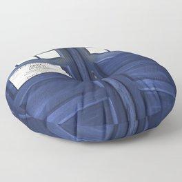 Tardis Doors Floor Pillow