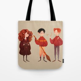 Friendship and Bravery Tote Bag