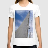 sailing T-shirts featuring sailing by habish
