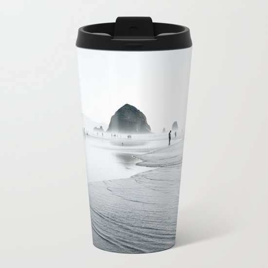 Cannon Beach Metal Travel Mug
