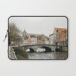 Houses in Bruges Laptop Sleeve