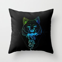 Inverted Shapeshifter Throw Pillow
