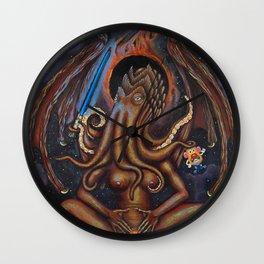 Mama Cthulhu Wall Clock