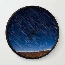 Raining Stars Wall Clock