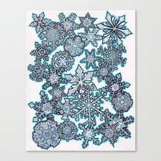 Gentle Snowstorm Canvas Print
