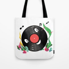 Vinyl Guy Tote Bag