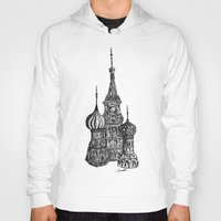 moscow Hoodies featuring Moscow by Name