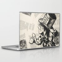 mad hatter Laptop & iPad Skins featuring Mad Hatter by Jordan Renae Arp