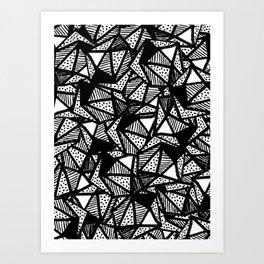 Graphic 110 Art Print