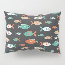 Retro Fish Pillow Sham