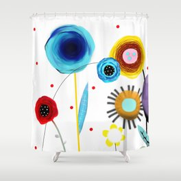 Show Me What I'm Looking For Shower Curtain