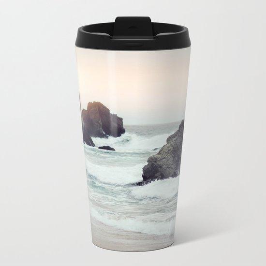 Ocean Shores Metal Travel Mug