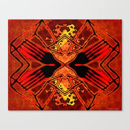 Red Eye Fork Canvas Print