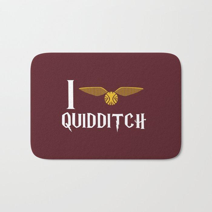 I love Quidditch Bath Mat