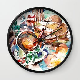 Rise & Shine! Wall Clock