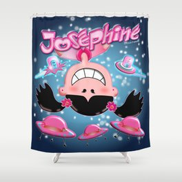 Josephine Space Shower Curtain