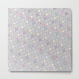 Diamond Pattern 4 Metal Print