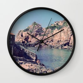Hidden Coves On Spanish Islands Wall Clock