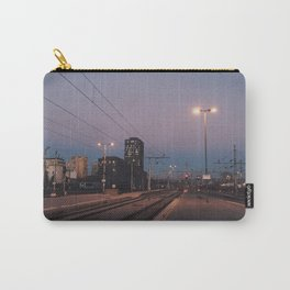 Sunset railway town Carry-All Pouch
