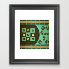 shiny stars Framed Art Print