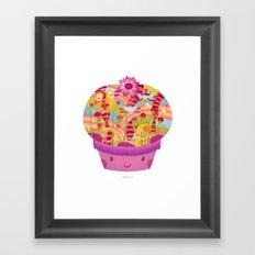 Mrs P Framed Art Print