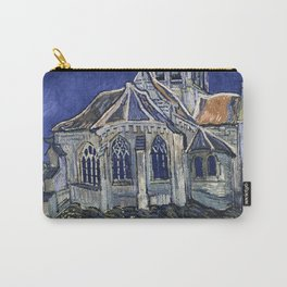 Church At Auvers Sur Oise by Van Gogh Carry-All Pouch