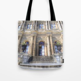Dolmabahce Palace Istanbul Tote Bag