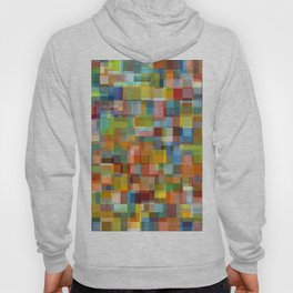 Colorful Collage with Layers Hoody