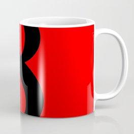 8 (BLACK & RED NUMBERS) Coffee Mug