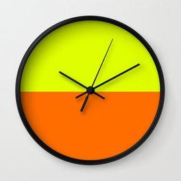 2-Tone Neon Wall Clock