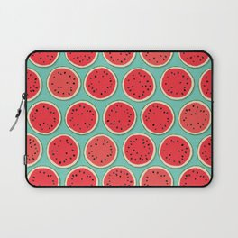watermelon polka mint Laptop Sleeve