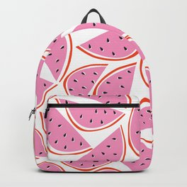 Graphic Watermelon Slice Backpack