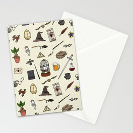Harry Pattern Stationery Cards