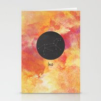 leo Stationery Cards featuring Leo by snaticky