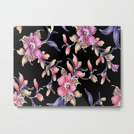 flower patterns Metal Print