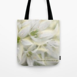 The Magic of Flowers Tote Bag