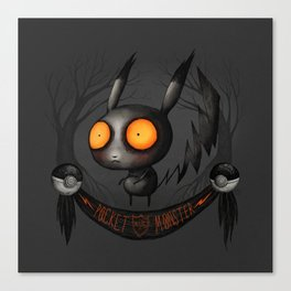Pocket Monster #025 Canvas Print